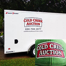 Cold Creek Auction Trailer and Apparel
