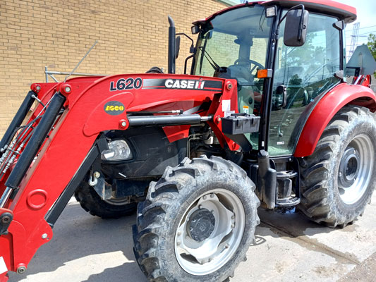 Case 75C Tractor with Loader